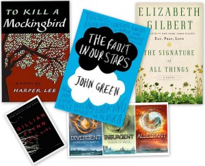 April reading list...