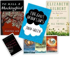 April reading list...