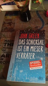 My German copy of The Fault in our Stars (Das Schicksal ist Ein Mieser Verraeter)
